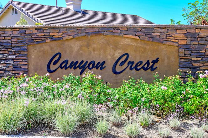 Canyon Crest Community In Oceanside, Califonia