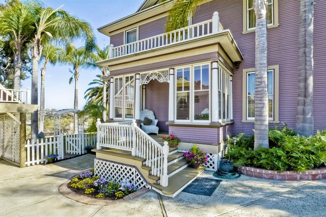 Oceanside, California Victorian Home For Sale